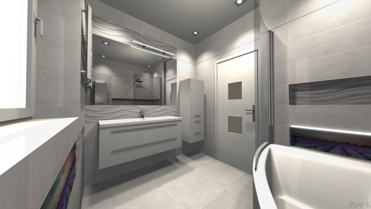 Projekty łazienki świętochłowice Salon łazienek Wykonujemy