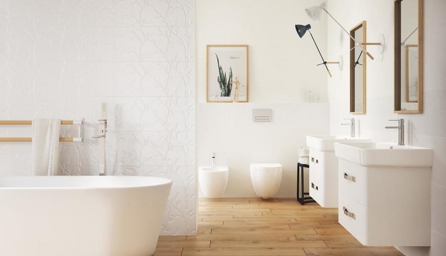 Winter Vine White Opoczno Salon łazienek