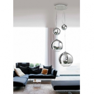 Azzardo Lampa Silver Ball 4